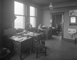 [Interior of Mr. Teasdale's office]