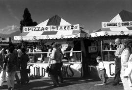 Food stands on P.N.E. grounds