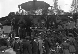 H.R.H. Prince of Wales at civic reception, Stanley Park