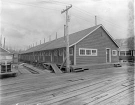 [Workers' accommodation at] Pacific Mills [on the] Queen Charlotte Islands