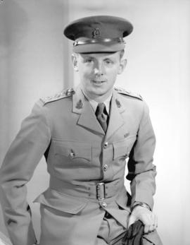 Captain S.J.M. Taylor of Chilliwack Military Hospital]