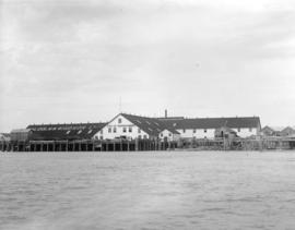 [Malcolm and Windsor Ltd. Gulf of Georgia Cannery from the water]