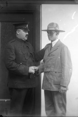 Late Chief McLennan and Detective Champion
