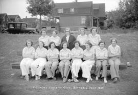 Richmond Athletic Club, Softball Team, 1934