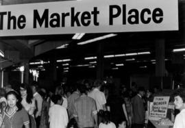 """The Market Place"" displays, Pacific Coliseum"
