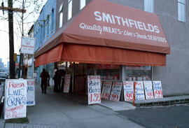[Smithfields Quality Meats at] 451 Powell [Street]
