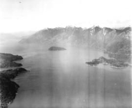 [Aerial view of Howe Sound]