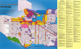Zoning map : City of Vancouver, British Columbia