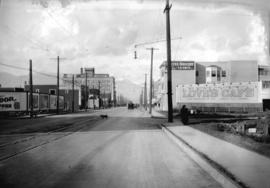 Taken for Duker and Shaw Billboards Ltd. [Granville from 14th Avenue looking north]