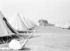 [Tents at a military camp]
