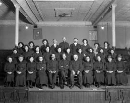 Salvation Army [of 301 East Hastings] 40th Anniversary Congress - [Group Photograph]