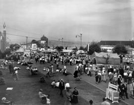 Gayway grounds during the fair