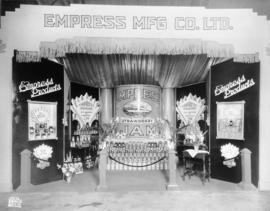 Empress Manufacturing Co. display of preserves