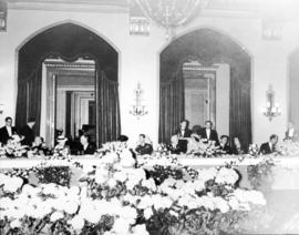 [Civic luncheon to honour King George VI and Queen Elizabeth at the Hotel Vancouver]