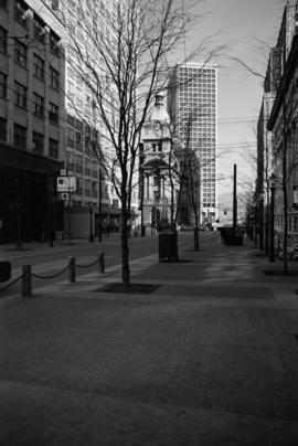 [Looking north on] Granville Street