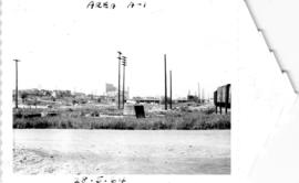 Area A-1, looking north to Hastings Viaduct from 1000 block Union after demolition of Continental...