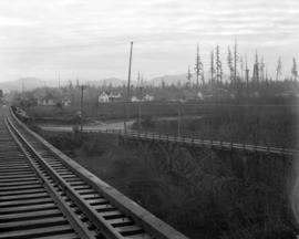Abbotsford, B.C. - [View] from Tracks