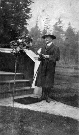 General Baden-Powell [at the home of R.D. Rorison, 3148 Point Grey Road]