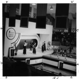 Fashion show : [Simpsons-Sears fashion show in Garden Auditorium]