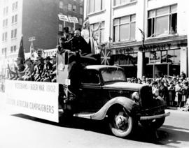 [Veterans of Boer War No. 1 Legion African Campaigners in the Diamond Jubilee Parade]
