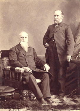 [Reverend Joshua Bunting and Charles Edward Bunting]