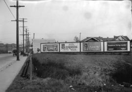 Taken for Duker and Shaw Billboards Ltd. [various billboards, unidentified location]