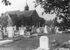 [St. Peter's Church and graveyard]