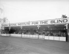[Canadian National Institute for the Blind booth at] Canadian Pacific Exhibition