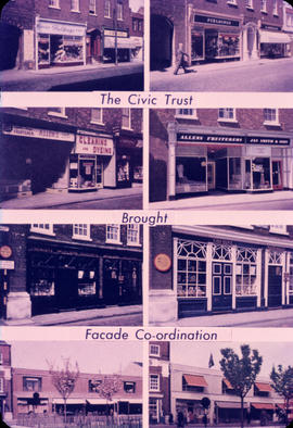 The Civic Trust brought Facade co-ordination . . .