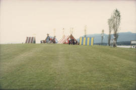Scandinavian Festival tents at Vanier Park