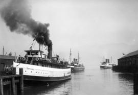 "[Steamer ""Capilano"" (II) at Union Dock - Vancouver, B.C.]"