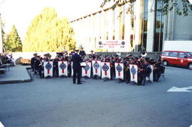 Vancouver Fire Department Band at City Hall