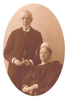 [Mr. and Mrs. J.M. Browning on their Golden Wedding Anniversary]