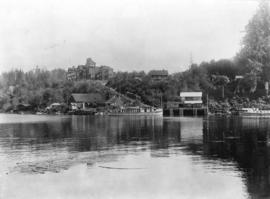 [View of  Banfield Cable Station from the water]