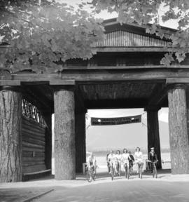 Canadian Youth Hostel bike hike [through Lumberman's Arch]