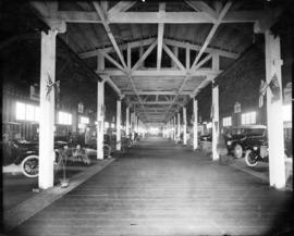 Transportation bldg : [interior, automobile show]