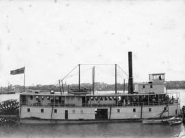 [Union Steamship Company sternwheel ferry]