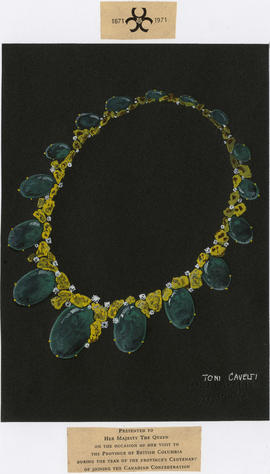 Necklace for Queen Elizabeth