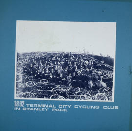 Terminal City Cycling Club in Stanley Park
