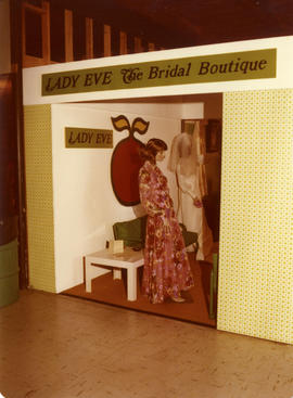 Lady Eve Bridal Boutique display booth