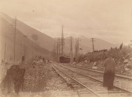 [View from Griffin Lake C.P.R. Station]