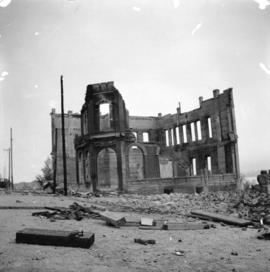 [Holy Trinity Cathedral after fire]