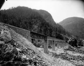 C.P.R. Bridge, White's Creek, Fraser Canyon