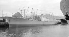 M.S. Tennessee Maru [at dock]