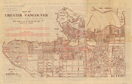 Map of Greater Vancouver