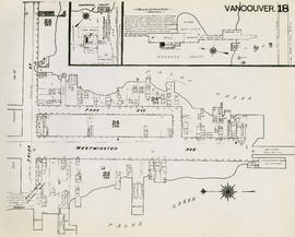 Plan of Vancouver, 1889 [fire map] : [Prior Street at Westminster Avenue]