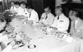 President Diem of Vietnam at dinner given in honour of Sherwood Lett