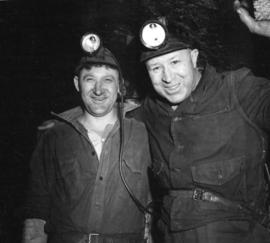 [Portrait of two miners]