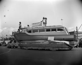 [Howe Sound Ferries Ltd. parade float]