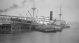 S.S. Delagoa Maru [at dock]